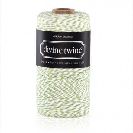 bakers twine apple green