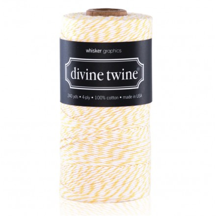 bakers twine lemon