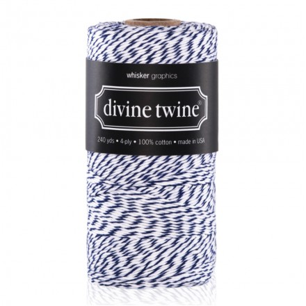 bakers twine blueberry blauw