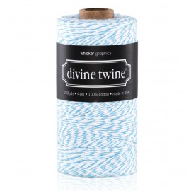 bakers twine aquablauw