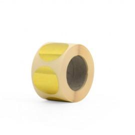 label 1,5 cm goud