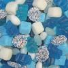 mix blauw - 1 kg