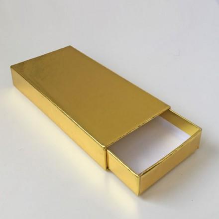 schuifdoosje goud
