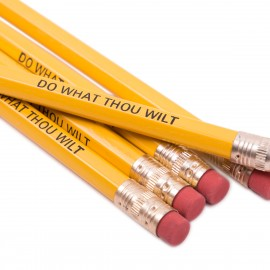 potloden met foliedruk