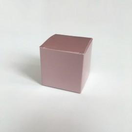 kubus doosje rosegold