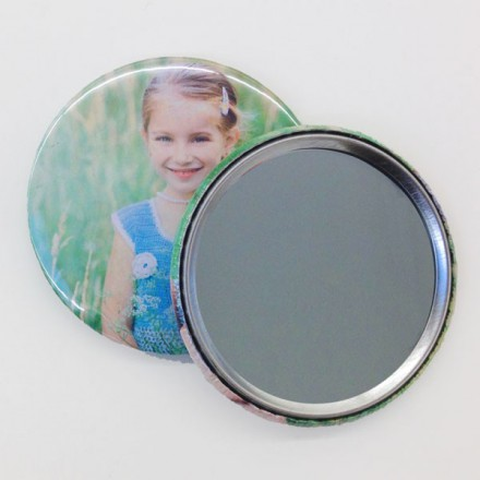 fotobutton spiegel 59mm