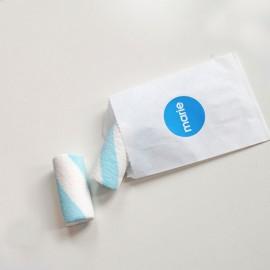 wit snoepzakje + label
